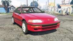 Honda CR-X (EF) 1991 for GTA 5