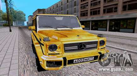 Mercedes-Benz G65 AMG for GTA San Andreas