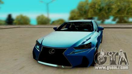 Lexus IS F Sport for GTA San Andreas