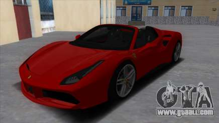 Ferrari 488 Spider 2016 for GTA San Andreas