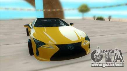 Lexus LC 500 for GTA San Andreas