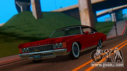Chevrolet Impala 1971 Retextured for GTA San Andreas