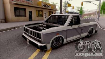 Bobcat Al Piso for GTA San Andreas