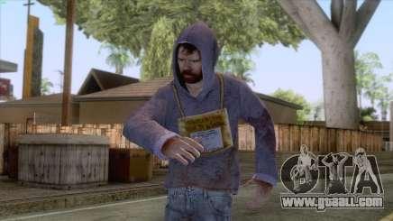 Hugo Chavez Frias Skin for GTA San Andreas