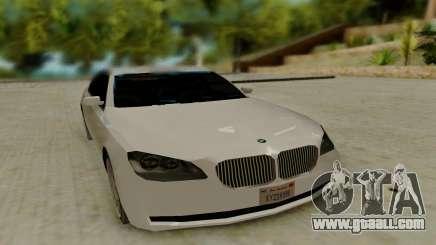 BMW 7 Series 750Li xDrive for GTA San Andreas