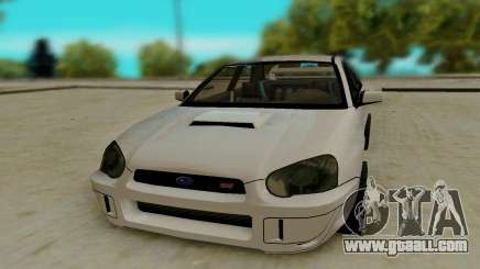 Subaru Impreza белый for GTA San Andreas