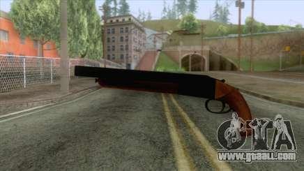 GTA 5 - Double Barrel Shotgun for GTA San Andreas