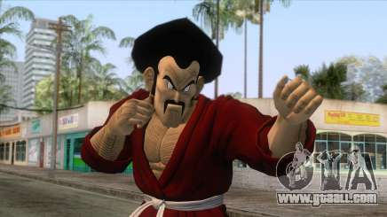 Dragon Ball - Mr. Satan Skin for GTA San Andreas