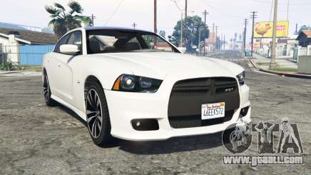 Dodge Charger SRT8 (LD) 2012 [replace] for GTA 5