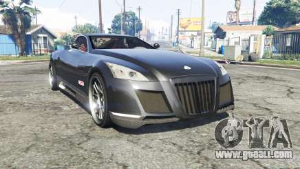Maybach Exelero concept 2005 v0.5 [replace] for GTA 5