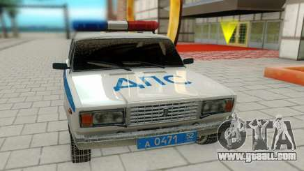 VAZ 2107 DPS for GTA San Andreas