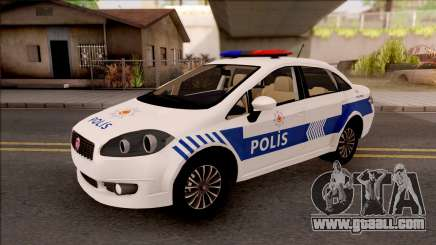 Fiat Linea Turkish Police for GTA San Andreas