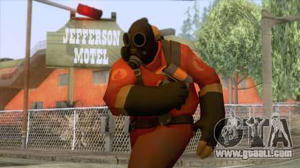 Team Fortress 2 - Pyro Skin v2 for GTA San Andreas