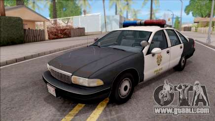 Chevrolet Caprice 1991 R.P.D. for GTA San Andreas