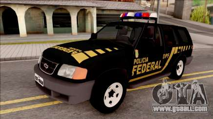 Chevrolet Blazer Federal Police of Brazil for GTA San Andreas