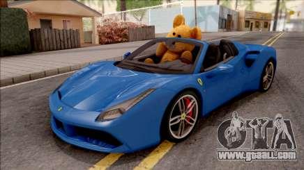 Ferrari 488 Spider 2016 v2 for GTA San Andreas