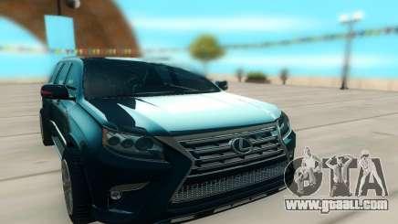 Lexus LX540 for GTA San Andreas