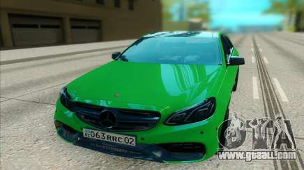 Mercedes-Benz E63 AMG лайм for GTA San Andreas
