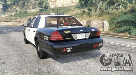 Ford Crown Victoria Police [replace]