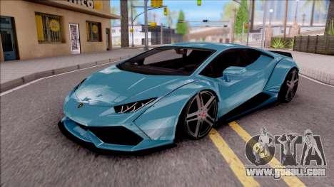 Lamborghini Huracan LB Team-eXtreme for GTA San Andreas