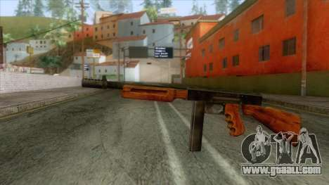 Volstead SMG Rifle for GTA San Andreas