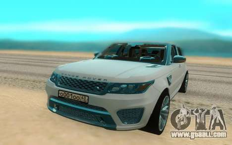 Land Rover Range Rover Sport for GTA San Andreas right view