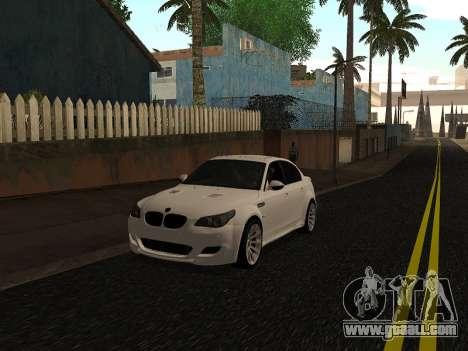 BMW M5 E60 Lumma Edition By Ulvi Agazade for GTA San Andreas