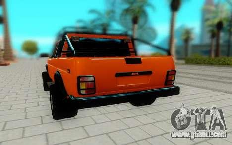 Lada Niva for GTA San Andreas back view