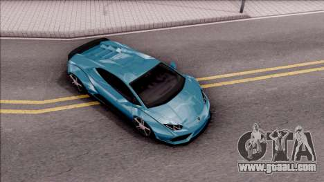 Lamborghini Huracan LB Team-eXtreme for GTA San Andreas right view