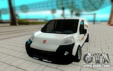 Fiat Fiorino for GTA San Andreas right view