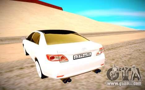 Toyota Corolla for GTA San Andreas