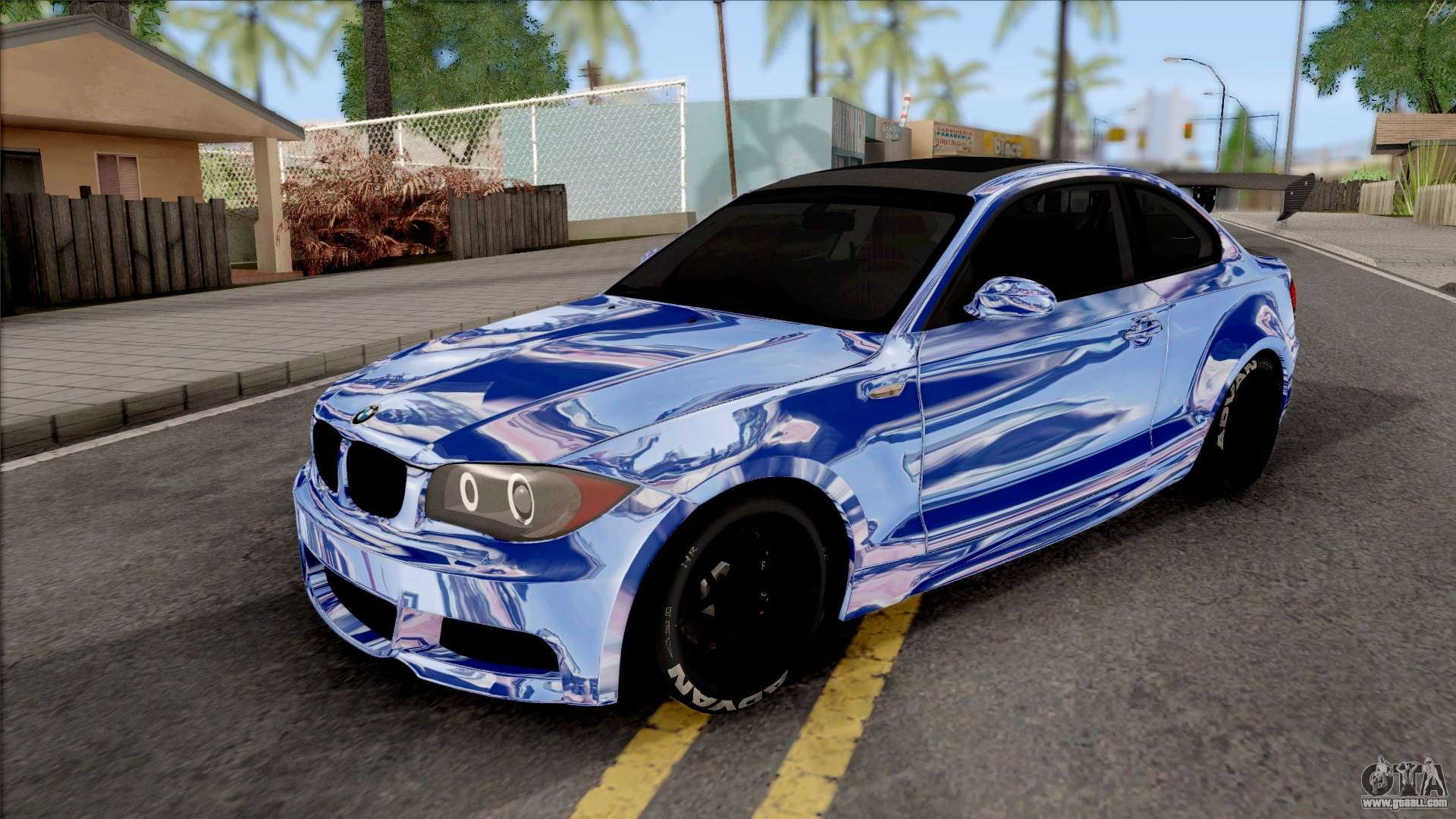 Bmw 135i E82 Juca For Gta San Andreas