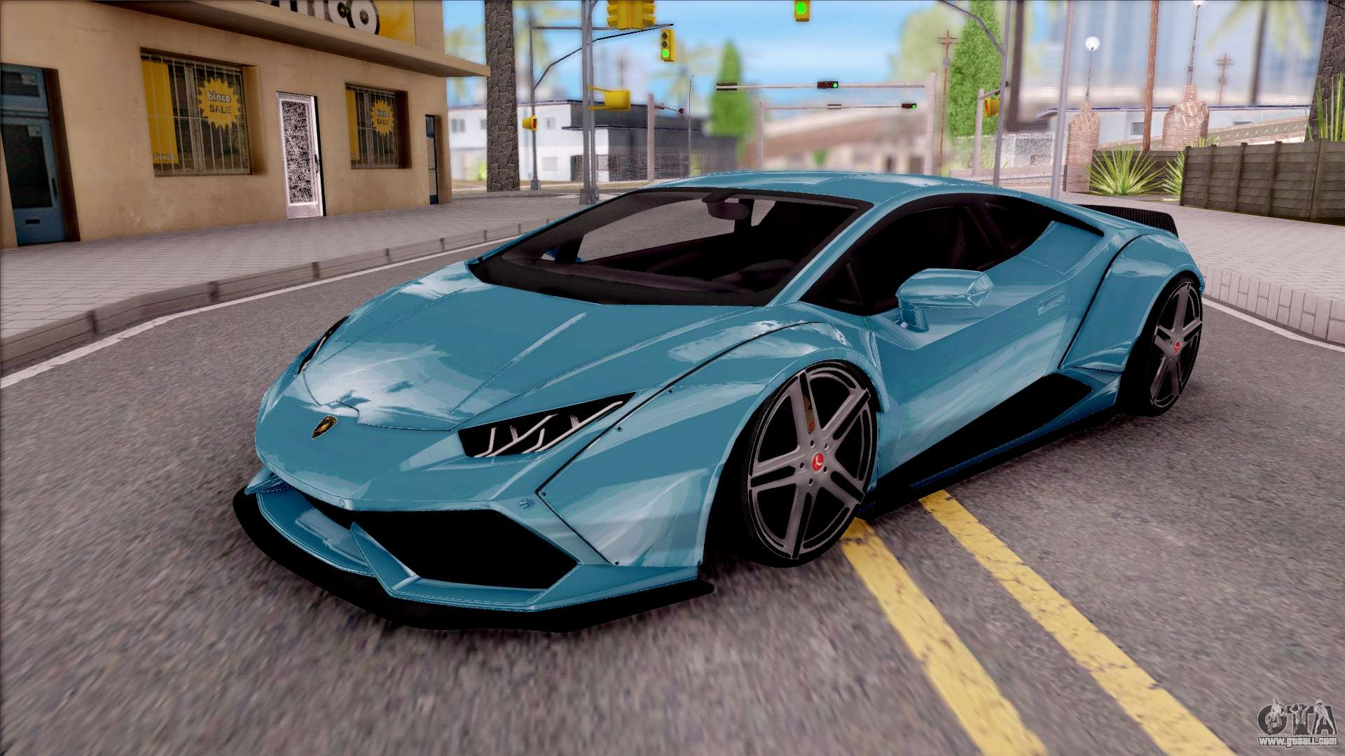 lamborghini huracan lb team extreme for gta san andreas. Black Bedroom Furniture Sets. Home Design Ideas