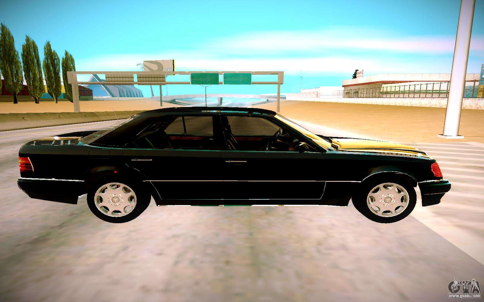 mercedes benz e500 w124 1992 for gta san andreas. Black Bedroom Furniture Sets. Home Design Ideas