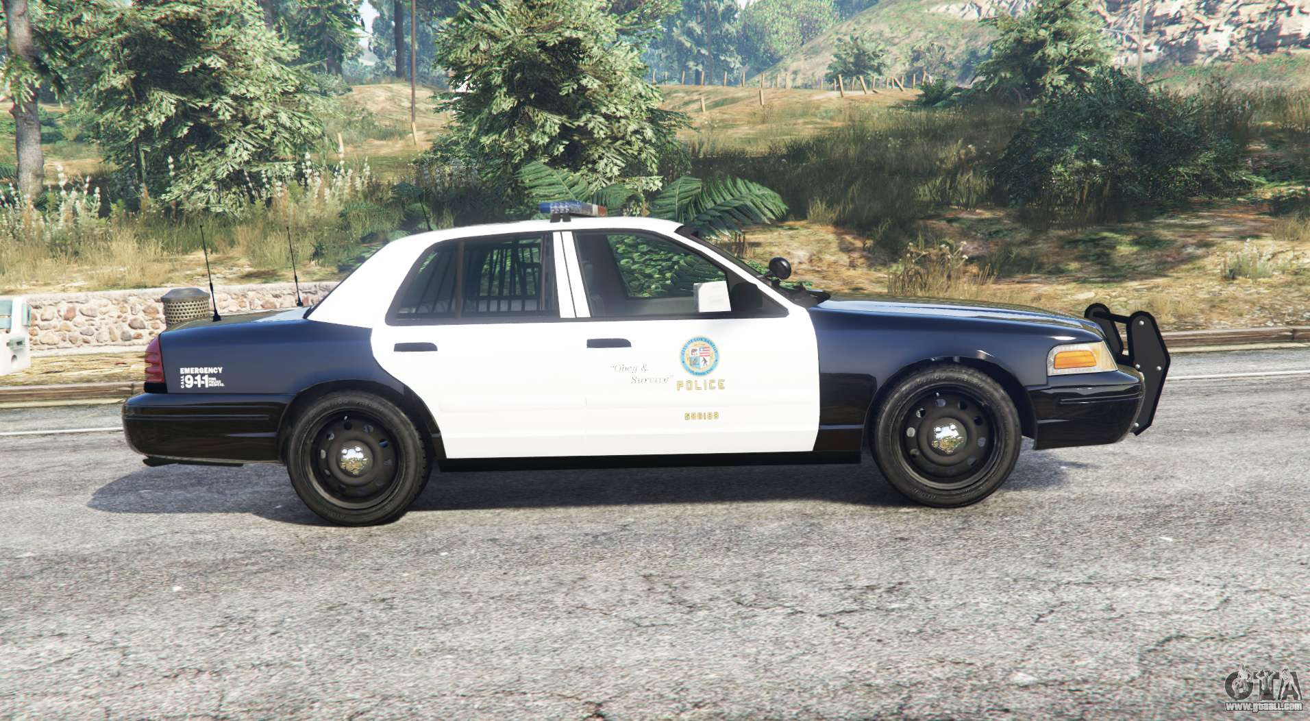 ford crown victoria police replace for gta 5. Black Bedroom Furniture Sets. Home Design Ideas
