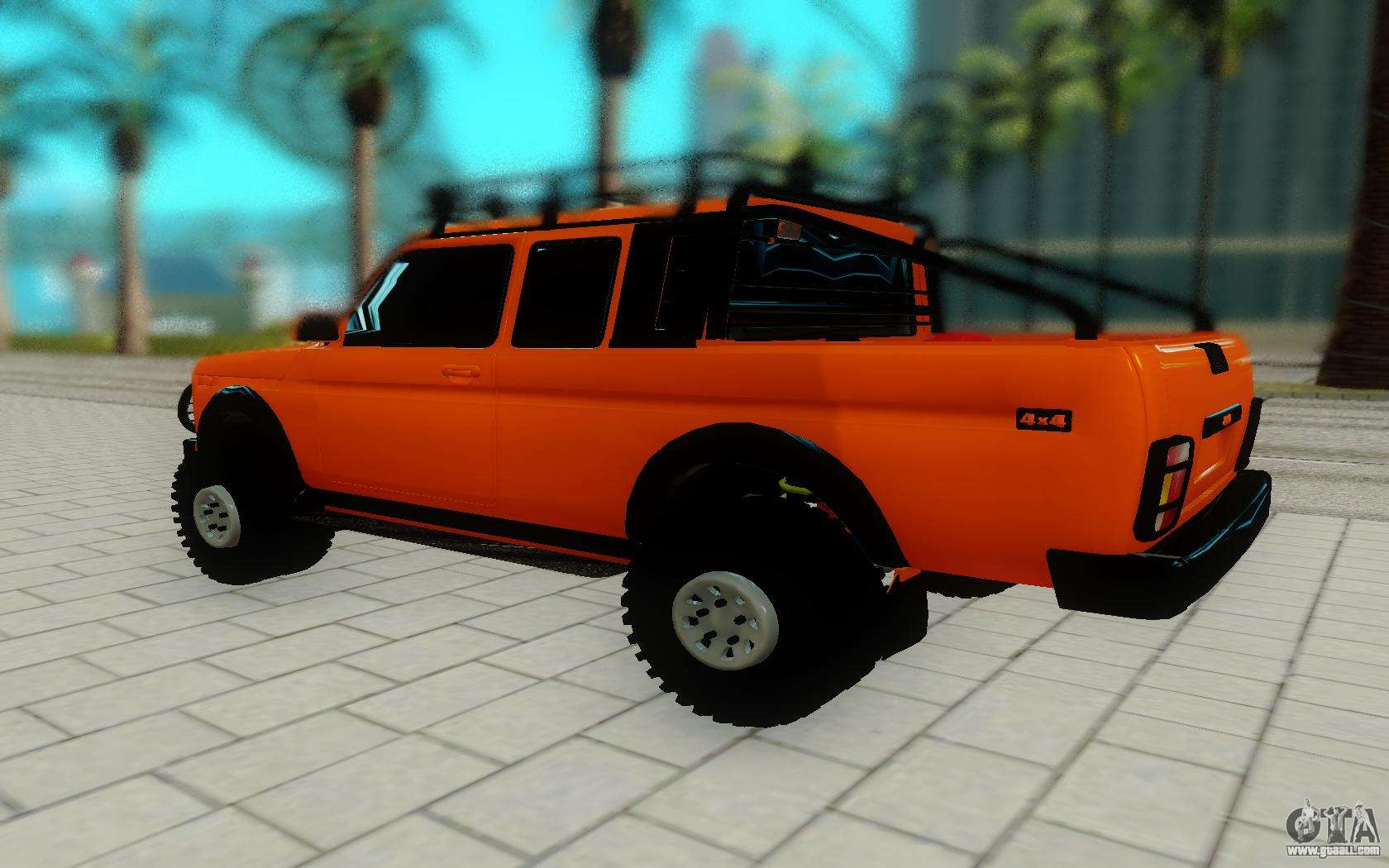 lada niva for gta san andreas. Black Bedroom Furniture Sets. Home Design Ideas