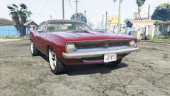 Plymouth Barracuda 1970 v2.0 [replace] for GTA 5