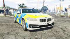 BMW 525d Touring Metropolitan Police [replace] for GTA 5