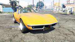 Chevrolet Corvette (C3) Stingray 1968 [replace] for GTA 5