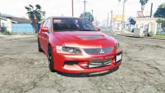 Mitsubishi Lancer Evolution IX [replace]
