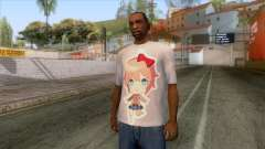 Doki Doki Sayori T-Shirt for GTA San Andreas