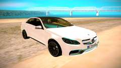 Mercedes-Benz E63 AMG белый for GTA San Andreas