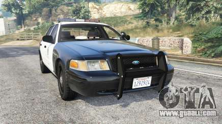 Ford Crown Victoria Police [replace] for GTA 5