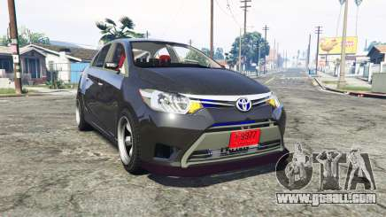 Toyota Vios (XP150) 2013 [replace] for GTA 5