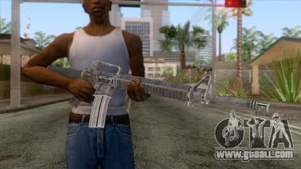 M16A2 Assault Rifle v3 for GTA San Andreas