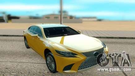 Lexus LS500 2018 for GTA San Andreas