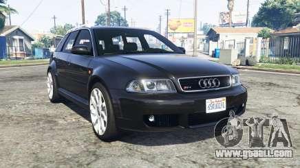 Audi RS 4 Avant (B5) 2001 v1.2 [replace] for GTA 5