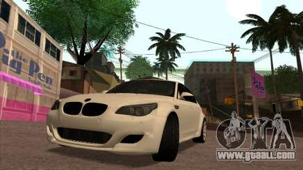 BMW M5 E60 Lumma Edition By Ulvi Agazade for GTA San Andreas