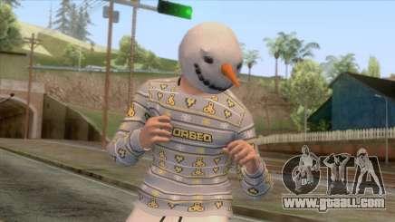 GTA Online - Christmas Skin 3 for GTA San Andreas