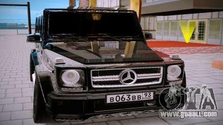 Mercedes Benz G63 Brabus for GTA San Andreas